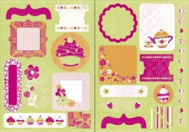 Candy lane elements die-cuts - Kaisercraft * DC328