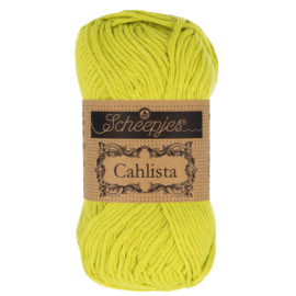 Cahlista - Scheepjes * 245 Green Yellow