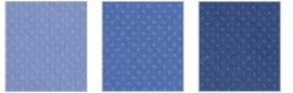 Dotted swiss cardstock neptune trio - Bazzill * 303116