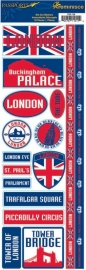London passports stickers - Reminisce * psp-138
