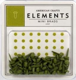 Minibrads leaf - American Crafts * AC8476