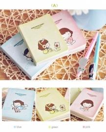 Mini Mate diary notebook - zalm (het rechtse boekje)