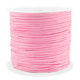 Draad macramé 1,5mm roze, 5 meter