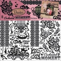 Dazzles Enchanted moment black- Hot off the press * DAZ12-2810