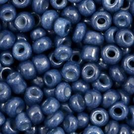Glaskraal Rocailles 6/0 (4mm) Navy blue