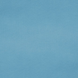 100% acryl vilt  - ijsblauw 013 * 20x30 cm.