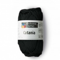 Catania katoen Zwart * 110