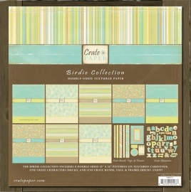 Collection kit birdie - Crate Paper * BR173