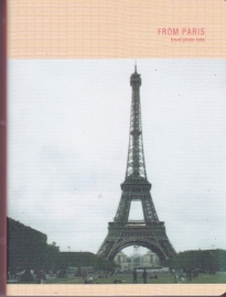 Travel photo notebook - from Paris