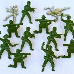 4 Brads leger soldaten