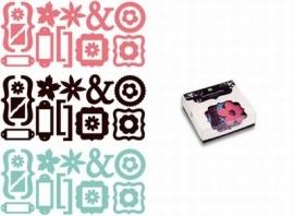 Jigsaw glitter box noteworthy - Making Memories * 117010/3985 wordt zonder verpakking verzonden