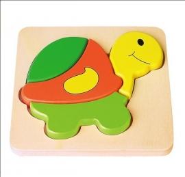 Houten puzzel schildpad - Vigatoys * V9933