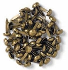 25 minibrads antiekkoper - Doodlebug * 100