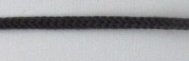Koord donkergrijs, 3 mm. dik