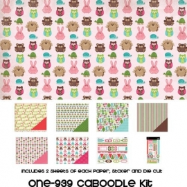 One fine day Caboodlepage kit - 3 Bugs in a Rug * fri-939
