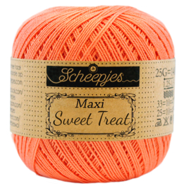 410 Rich coral - Maxi Sweet Treat 25 gram - Scheepjes