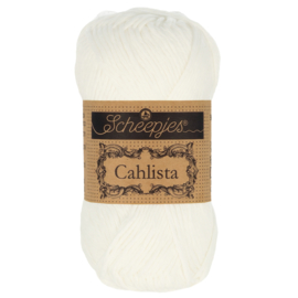 Cahlista - Scheepjes * 106 Snow white