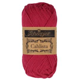 Cahlista - Scheepjes * 192 Scarlet
