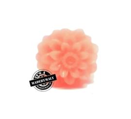 Dahlia bloem kraal 13mm rozerood