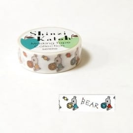 Masking tape Bear Drops - Shinzi Katoh * MKT5084