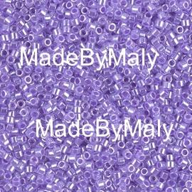 Miyuki Delica's 11/0 purple ceylon DB0249