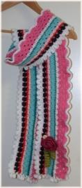 Hippe kindersjaal Roos - Maly Original