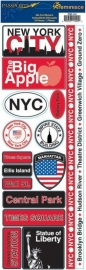 New York passports stickers - Reminisce * psp-147