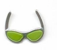 Brad zonnebril groen