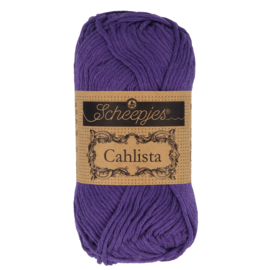 Cahlista - Scheepjes * 521 Deep Violet