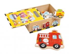 Puzzel box `voertuigen` * 1591
