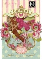 Madeleine chipboard box - K&Company wordt zonder verpakking verzonden