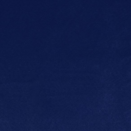 100% acryl vilt  - donkerblauw  015 * 20x30 cm.