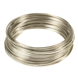 Memory wire draad 50mmx 0.8mm. 40 wikkels