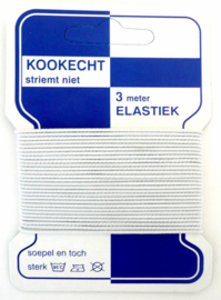 Elastiek 1,5mm , hoedenelastiek - elastisch