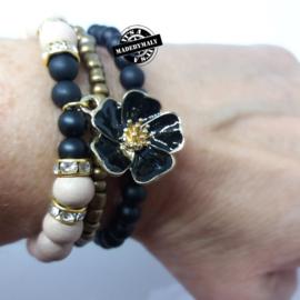 Zelfmaakpakket: Prachtige armbandenset. Kies zelf je kleur.