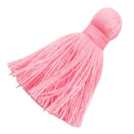 Ibiza style kwastje 4,5 cm Pink