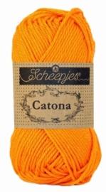 Catona 281 Tangerine  - Scheepjes