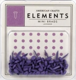 Minibrads lavender - American Crafts * AC84872