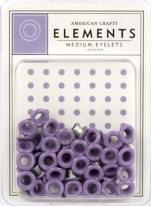 3/16 eyelets lavender ong. 50 stuks - American Crafts * AC8324