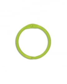 Sleutelhanger, Bindring lime (per stuk) - Creative Imaginations * CI 21042