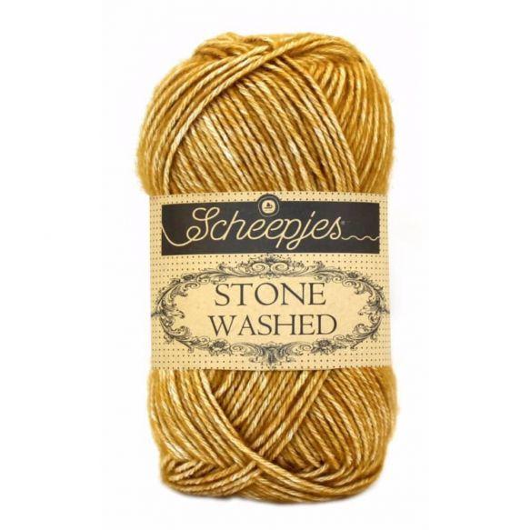 Yellow Jasper 809 - Stone Washed * Scheepjes