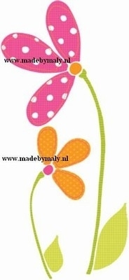 Iron Ons Pink Daisies - Prima Marketing * 920241