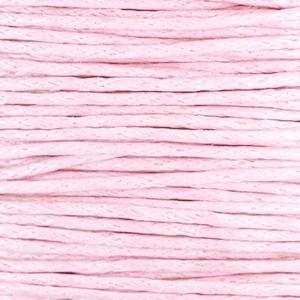 1 mm Waxkoord Light pink