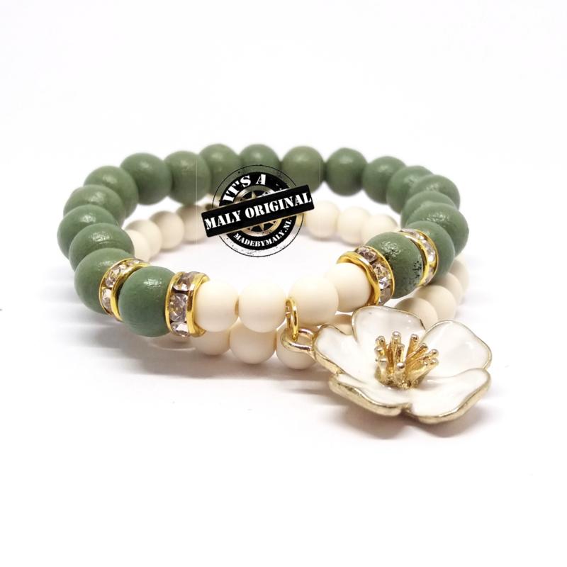 Prachtige armbandenset. Kies zelf je kleur