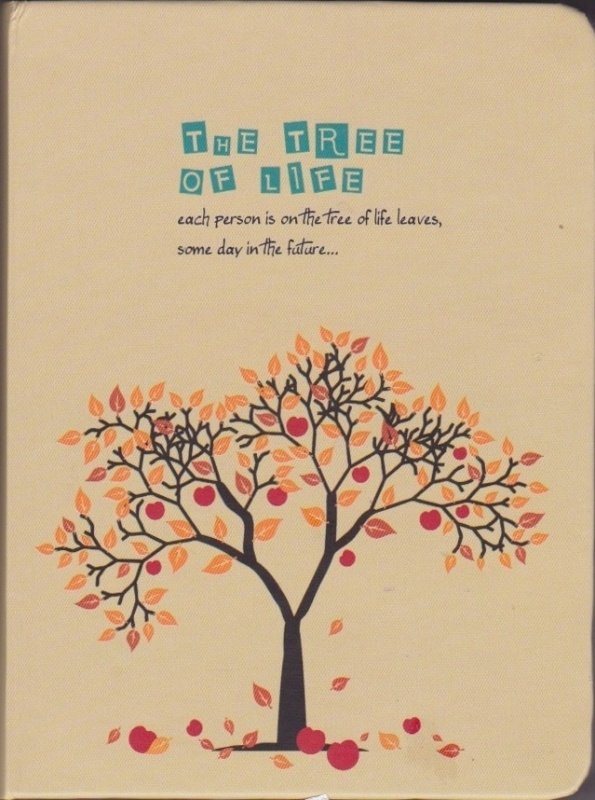 The tree of life diary planner - autumn