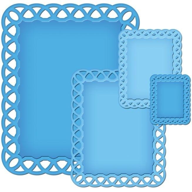 Lattic Rectangles - Spellbinders / Nestabilities * NEST-DE-319