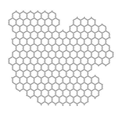 """6x6 """" Mask template Chicken Wire - The Crafters Workshop * TCW239s"""
