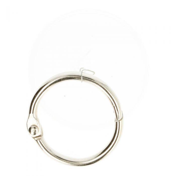 metalen ring sleutelhanger hersluitbaar 25 mm