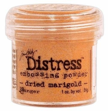 Distress Dried Marigold embossing poeder - 180005/4879 * Ranger