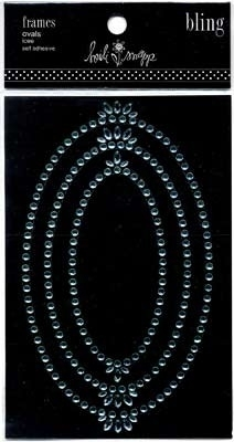Bling frames oval icee - Heidi Swapp * 64096